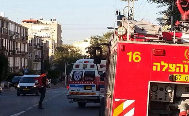 המשטרה סגרה את האזור (צילום: דוברות איחוד הצלה)