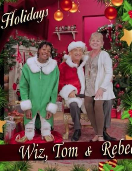 גלריית כרטיסי חג המולד (צילום: TWITTER)
