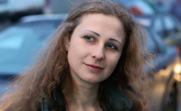Maria Alyokhina , פוסי ריוט (צילום: חדשות 2)