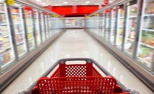 עגלת קניות, סופרמרקט, שבוע האוכל, מייסופרמרקט (צילום: dmbaker, Istock)