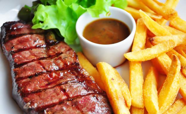 סטייק, מסעדה, שבוע האוכל (צילום: SmokedSalmon, Istock)