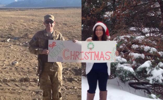 ברכת חג המולד (צילום: כריסטינה ודניאל פרדו)