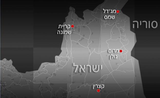 אזור הנפילה (צילום: חדשות 2)