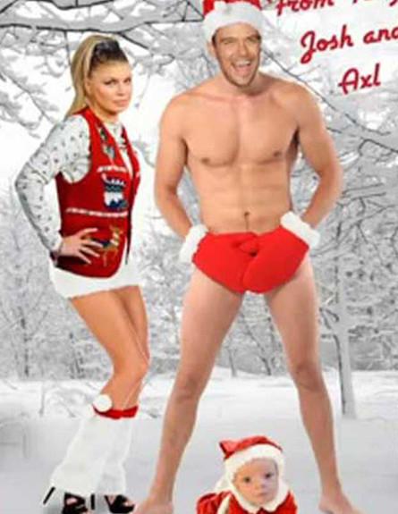 גלריית כרטיסי חג המולד (צילום: ELLEN TV)