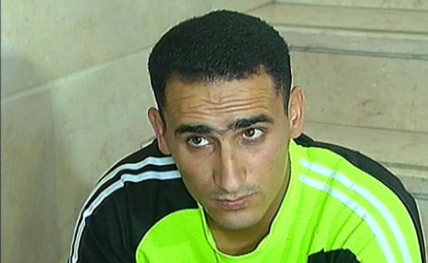 הנהג הפוגע, מוחמד אל גבור (צילום: חדשות 2)