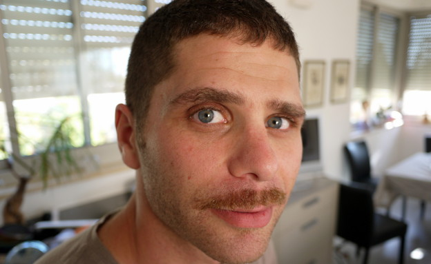 הגיס עם השפם של שי גל (צילום: שי גל 2, צילום ביתי)