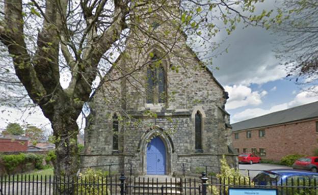 הכנסייה ביורק (צילום: google street view)