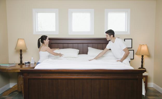 סידור מיטה, מסדרים (צילום: Patrick Lane, Thinkstock)
