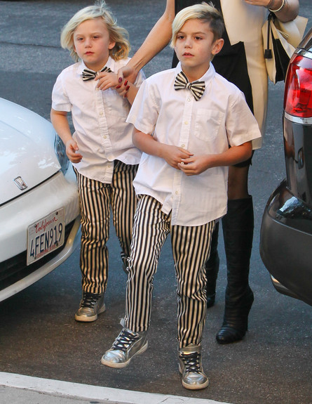 של מי הבנים? (צילום: AKM-GSI / Splash News, Splash news)