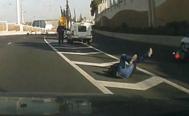 צפו בתיעוד התאונה