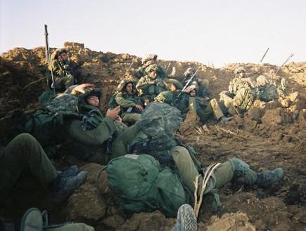 חיילי גולני בעופרת יצוקה