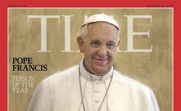 מה סוד הקסם של האפיפיור? (צילום: time)
