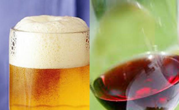 יין או בירה (צילום: istockphoto)