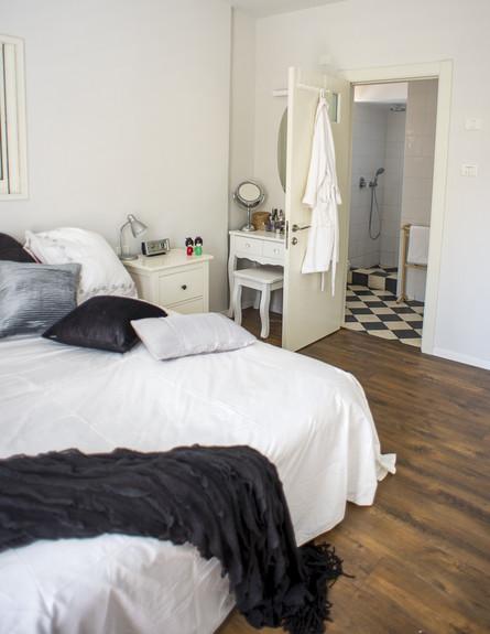 מירב שדה, חדר שינה מיטה גובה, צילום סיון אסקיו (צילום: סיון אסקיו)