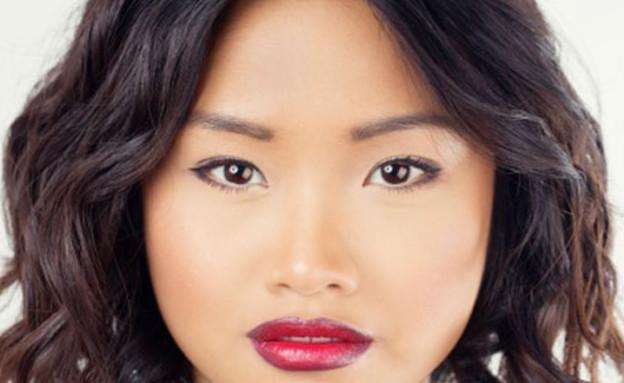 שני גוונים לשפתיים - תמונה ראשונה (צילום: cosmopolitan)