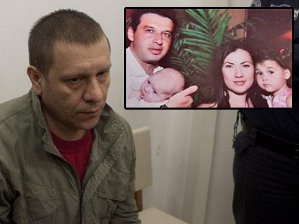 דמיאן קרליק , רוצח משפחת אושרנקו (צילום: חדשות 2)