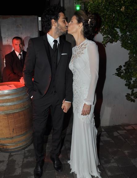 חתונה- גיל פליסיאנו (צילום: צ'ינו פפראצי)