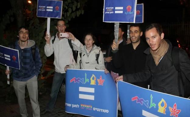 התא הגאה של אוניברסיטת תל אביב (צילום: תומר ושחר צלמים)