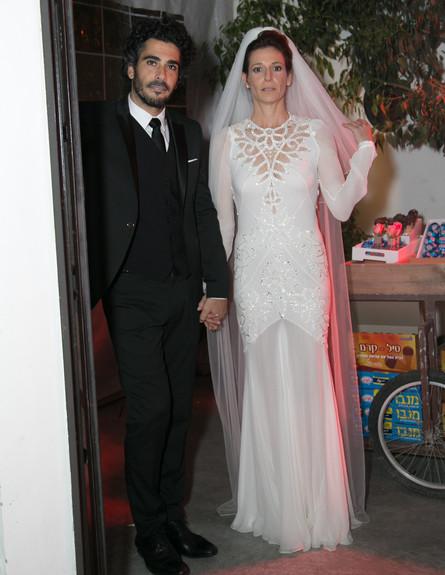 חתונה - גיל דסיאנו (צילום: צ'ינו פפראצי)