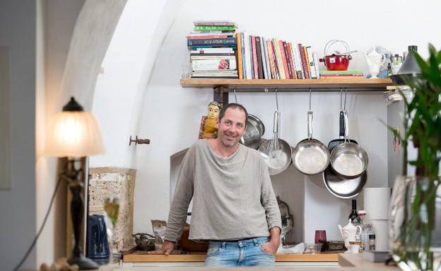 מטבחי שף, ניר צוק במטבח, צילום בני גמזו (צילום: בני גם זו לטובה, אוכל טוב)