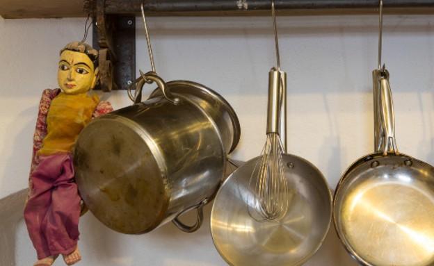 מטבחי שף, ניר צוק, מחבתות, צילום בני גמזו (צילום: בני גמזו)