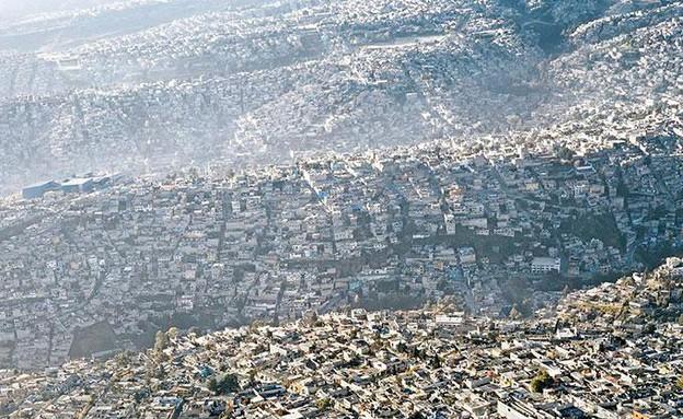 מקסיקו סיטי, ממעוף הציפור, קרדיט pablolopezluz.com (צילום: pablolopezluz.com)