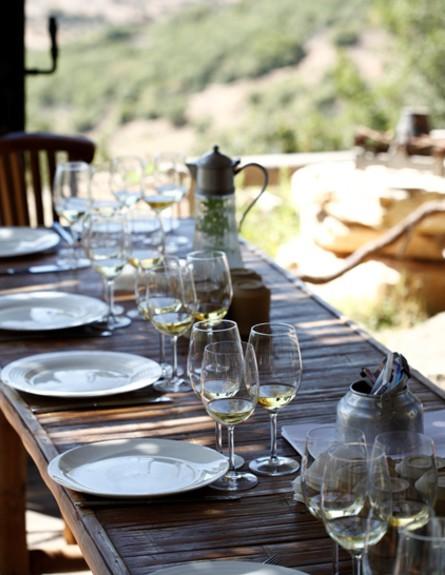 מטבחי שף, ארז שולחן חוץ גובה, צילום afik gabay (צילום: afik gabay)