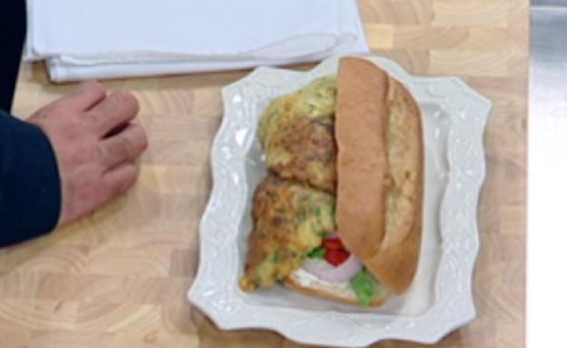 סנדוויץ' הבוקר של רותם סודרי (תמונת AVI: mako)