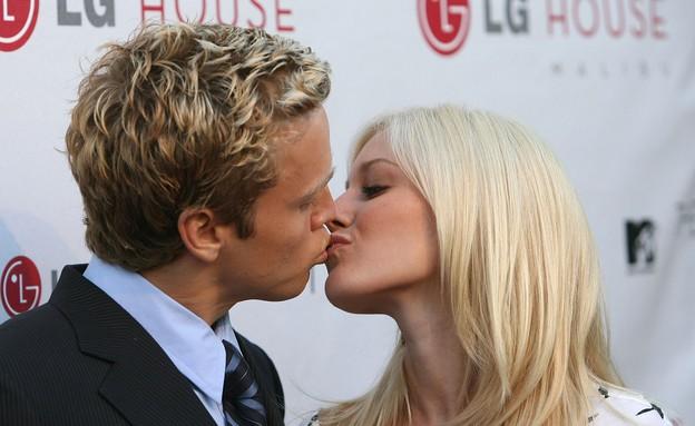 היידי וספנסר- נשיקות סלבס (צילום: Michael Buckner, GettyImages IL)