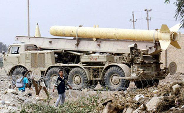 הגיע לחיזבאללה. טיל סקאד (צילום: AP)