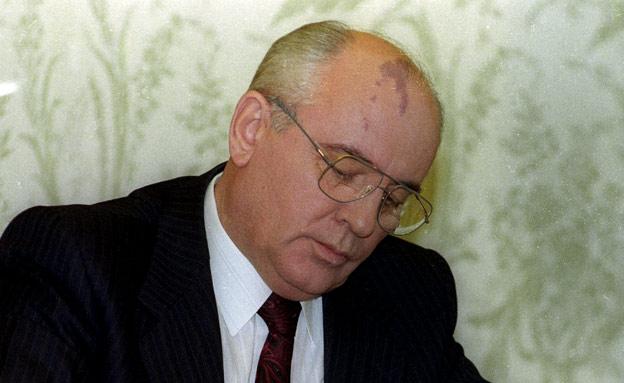 """מזכ""""ל המפלגה הקומוניסטית מיכאיל גורבצ'וב (צילום: רויטרס)"""