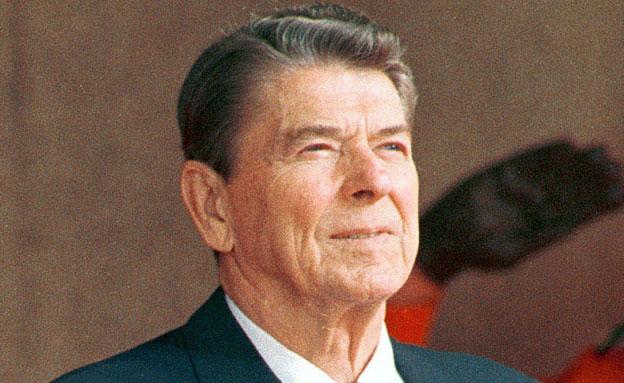 """נשיא ארה""""ב לשעבר רייגן (צילום: רויטרס)"""