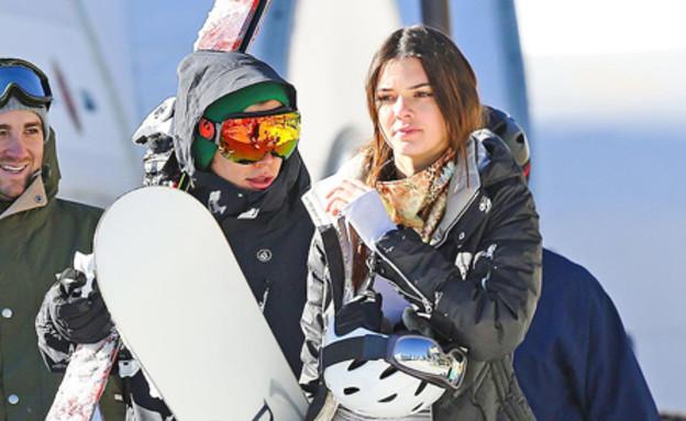 קנדל ג'אנר והארי סטיילס בסקי