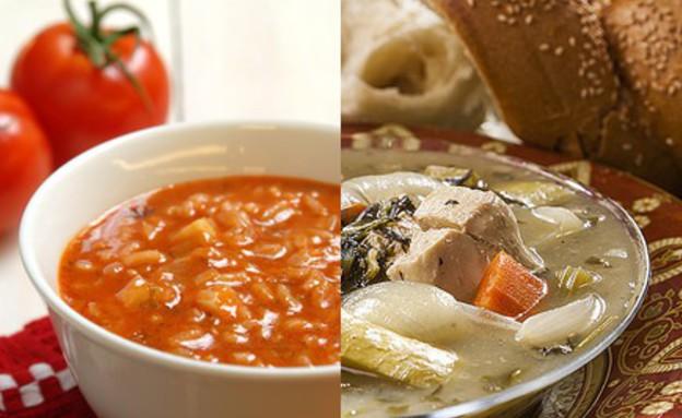 מרק עגבניות או מרק עוף (צילום: אסף אמברם, רוני בלחסן, אוכל טוב)