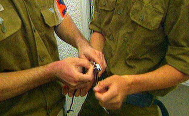 """""""ירידה במספר התיקים"""", המשטרה הצבאית (צילום: חדשות 2)"""