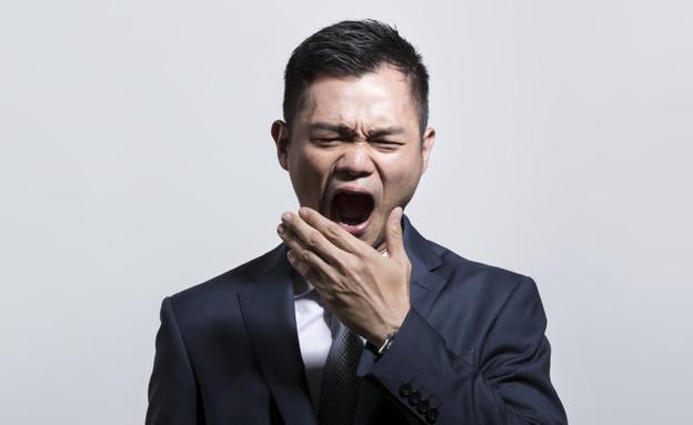 גבר אסייתי מפהק- פיהק וקרסה לו הריאה (צילום: Thinkstock)