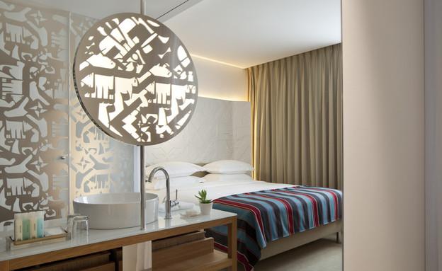 חדר, מלון מנדלי (צילום: עמית גירון)