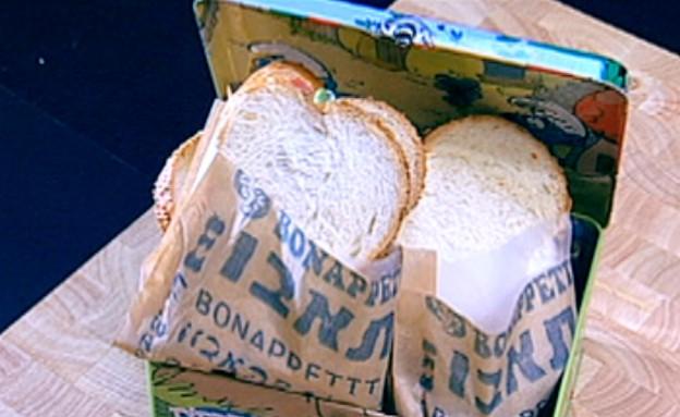 סנדוויץ' ג'ינג'י של אורטל שמיר (תמונת AVI: mako)