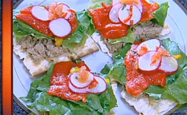 סנדוויץ' כבד בוכרי של קובי בן חורין (תמונת AVI: mako)