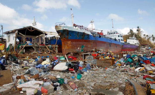 נזקי הייאן בפיליפינים. נובמבר 2013 (צילום: רויטרס)