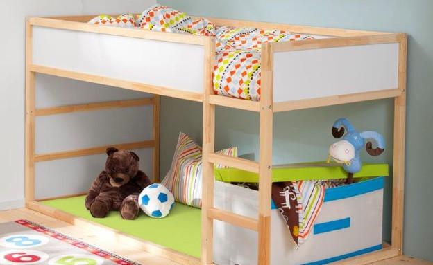 מיטת ילדים KURA (צילום: יחצ איקאה)