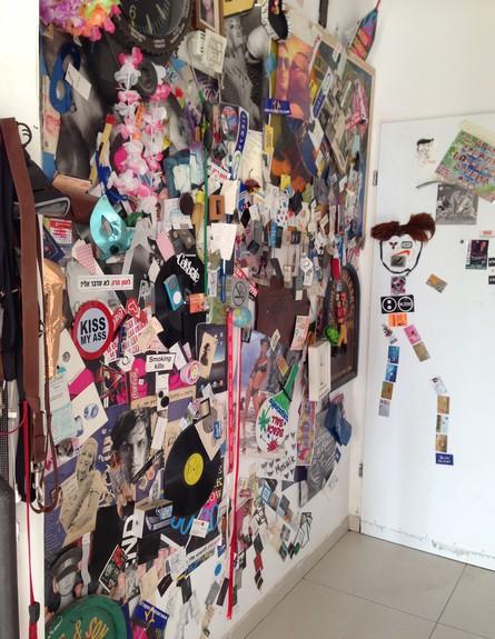 לשימוש ערוץ ליבינג בלבד - תערוכה, מושיק גלאמין (צילום: מושיק גלאמין)