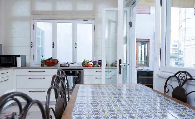 מטבחי שף, רושפלד, שולחן רוחב (צילום: בני גמזו)