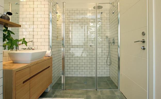 בית ונוי מתיחת פנים מקלחת (צילום: איתי גדרון)