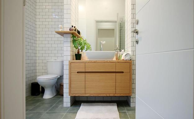 בית ונוי מתיחת פנים שירותים (צילום: איתי גדרון)