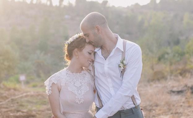 החתונה של שני ותום (צילום: דימה מוריך)