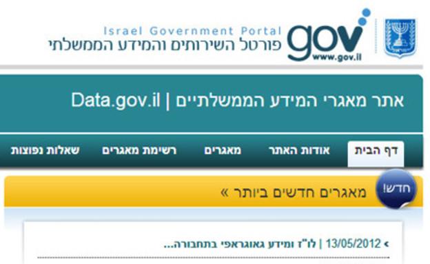 אתרי ממשלה