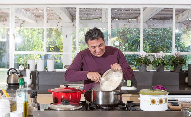 מטבחי שף, חיים כהן, חיים בוחש (צילום: בני גמזו)