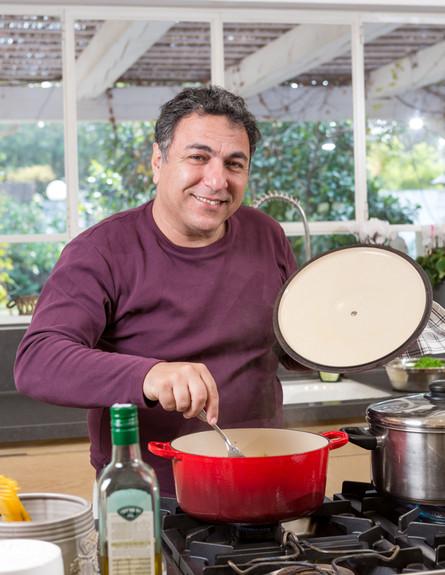 מטבחי שף, חיים כהן, חיים גובה (צילום: בני גמזו)