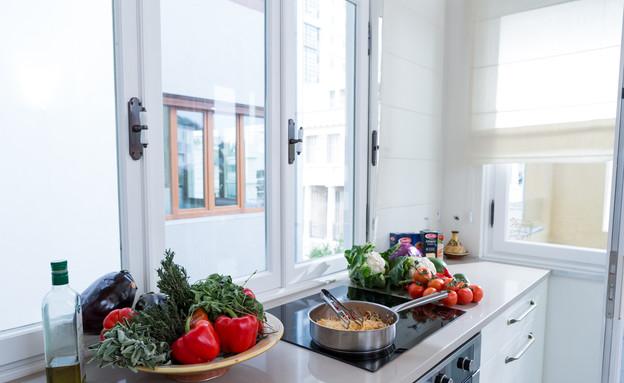 מטבחי שף, רושפלד, רושפלד במטבח גובה (צילום: בני גמזו)